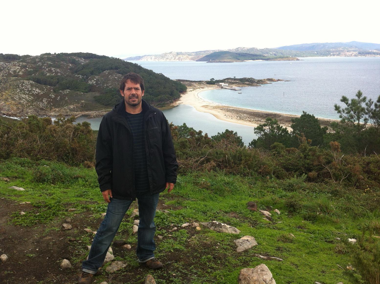Vista de les Illes Cíes desde Pedra da Campá - Blogtrip Vigo
