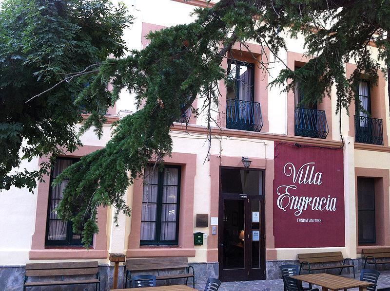 façana de l'Hotel Villa Engracia