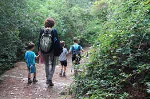Excursió per Collserola amb nens