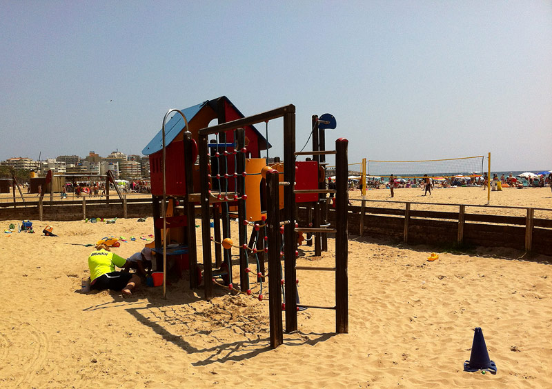 Club infantil a la platja de Llevant